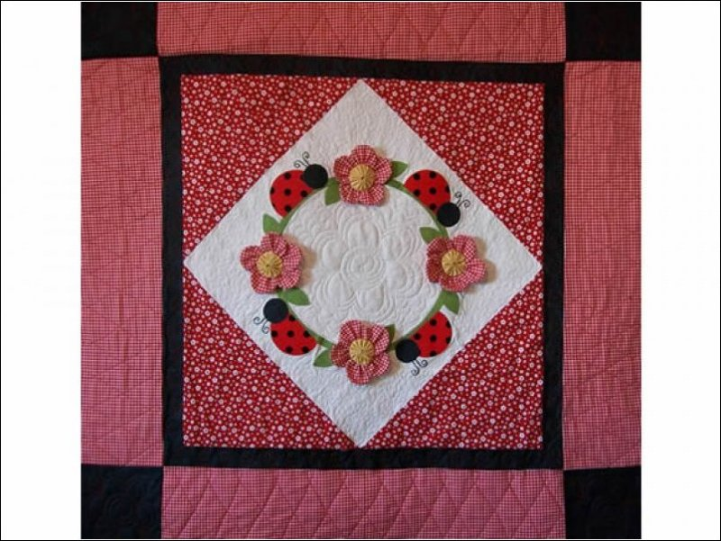 Lady Bug Landing Quilt Pattern