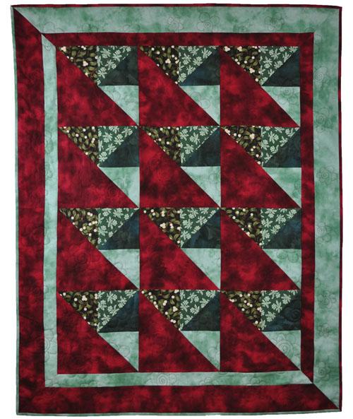Quilt Pattern Designer - Jutta Hufnagel - Slanting Triangles
