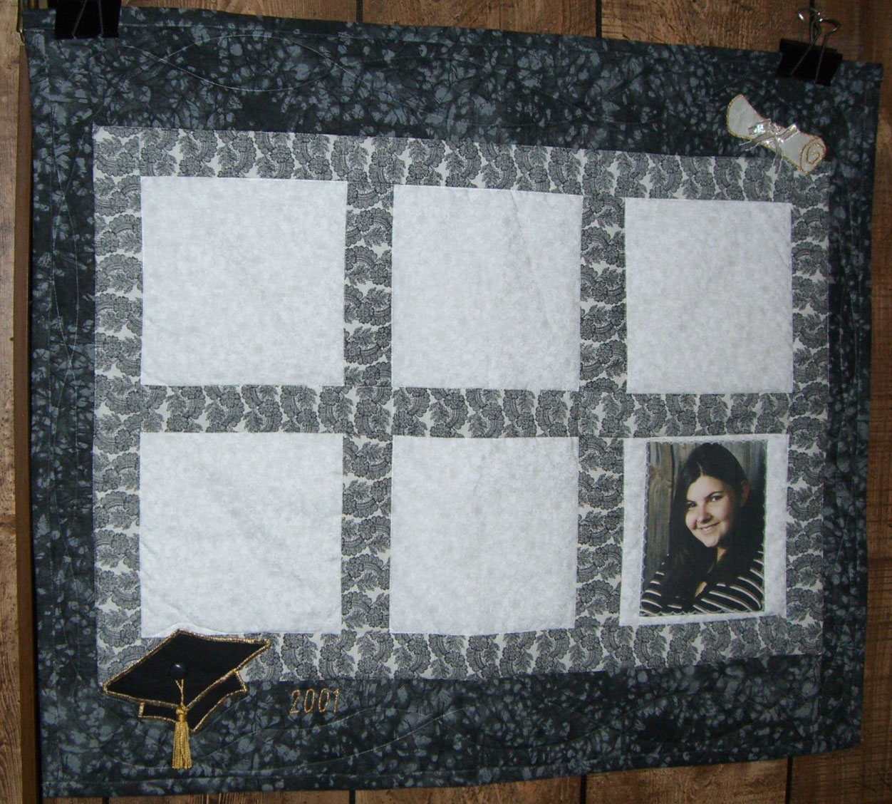 Free Easy Memory Quilt Patterns : Quilt Pattern Designer - Karen - Photo Memory Quilt