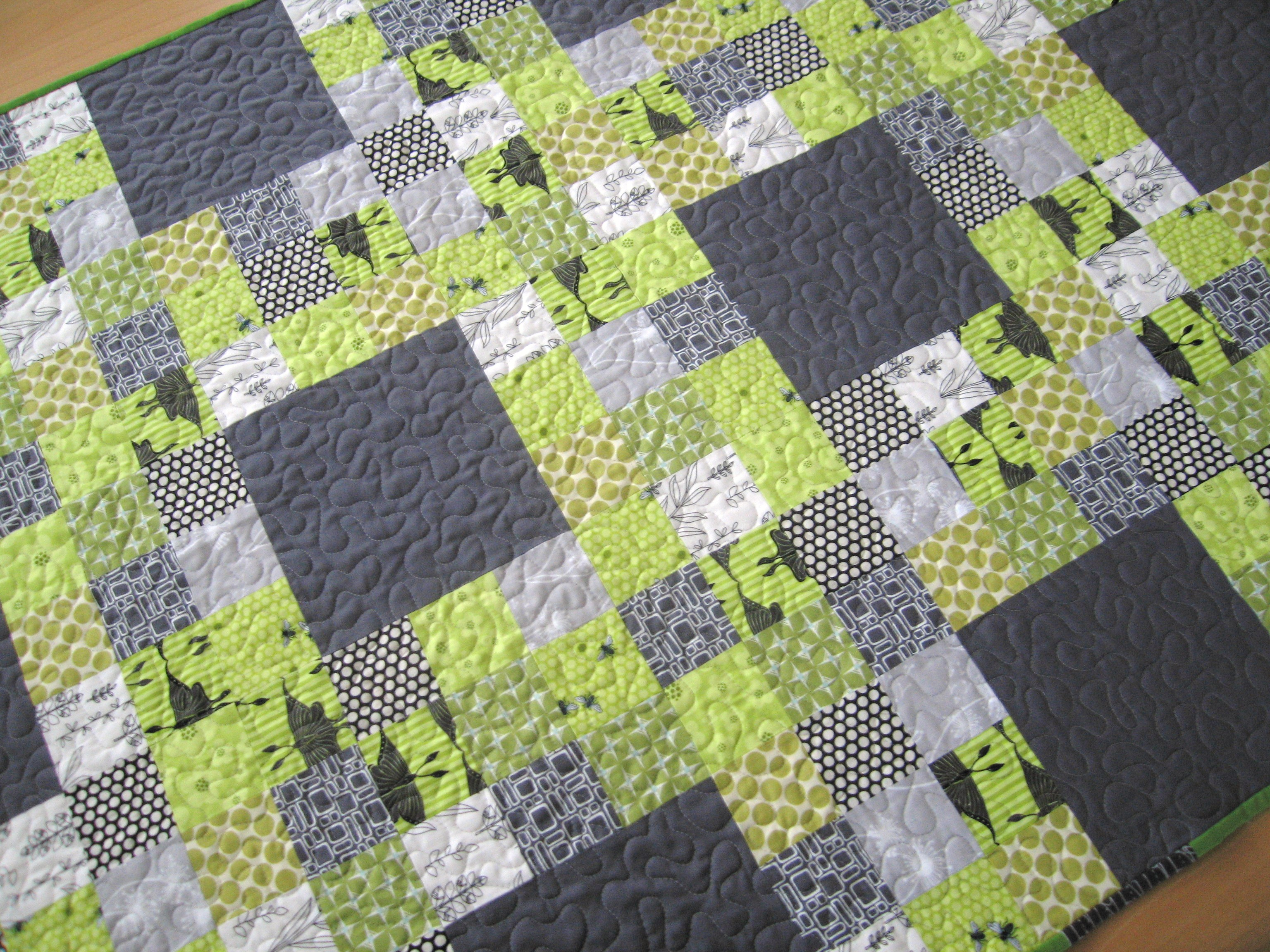 Quilt Pattern Designer Elizabeth Hartman Nine Patch
