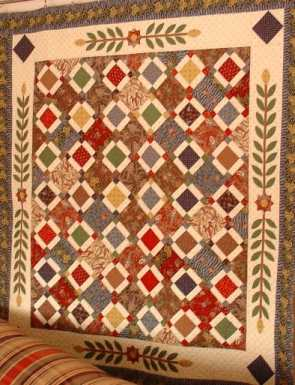 Beekeeper s Quilt Free Pattern Crochet : Free Pattern - Antebellum Quilt from Humble Bee