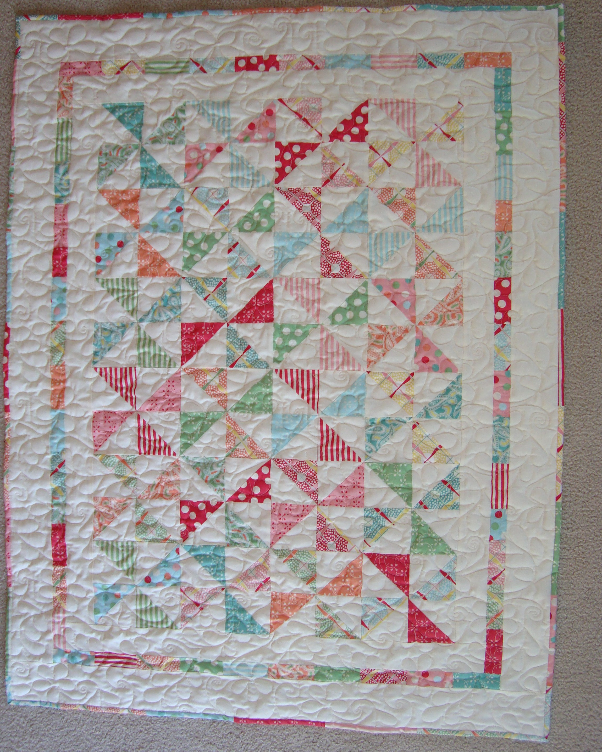 Free Pattern Wee Ones Baby Quilt By Kelly Guy