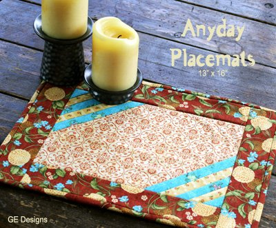 Free Pattern Anyday Placemats By Gudrun