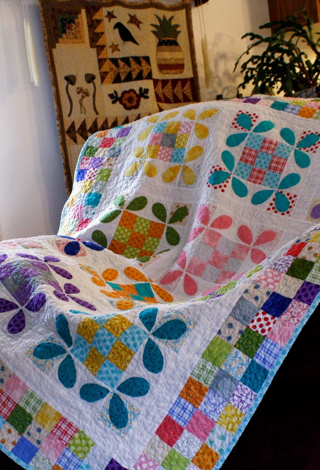 Free Tutorial Honey Bee Quilt By Erin Cox