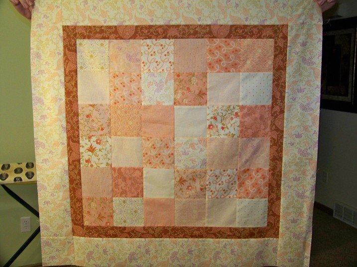 Free Tutorial - Scrap Baby Quilt by Jandi