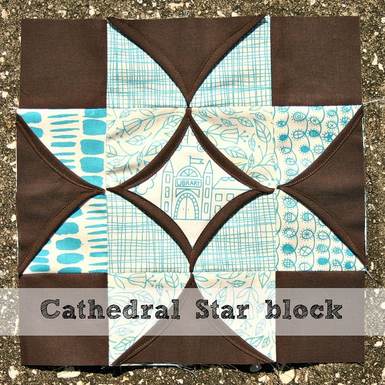 Free Pattern Cathedral Window Quilt Along Block Seven
