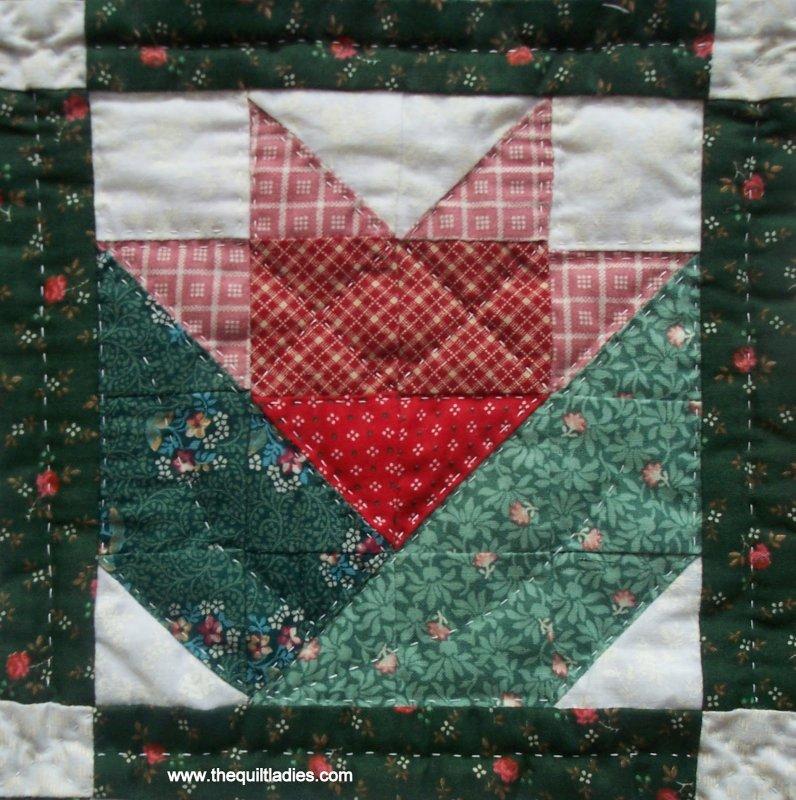 Free Pattern Flower Block By Beth Strub