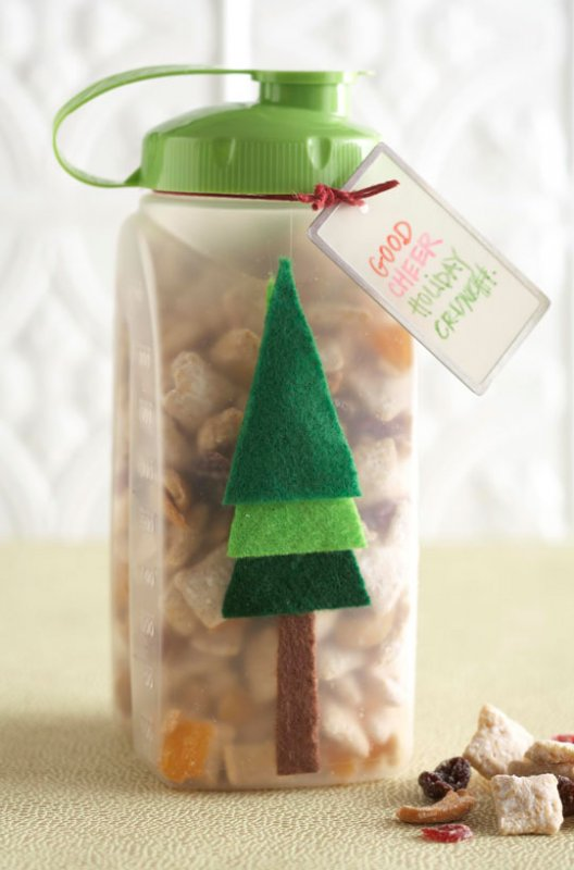 Free gift wrapping ideas eleven holiday ideas from all for Food gift packaging ideas