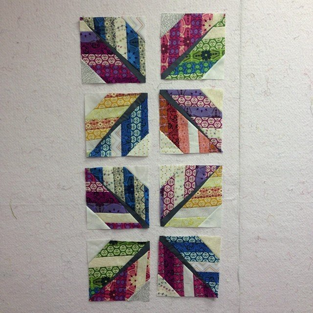 Leaf Quilt Pattern Blocks : Free Tutorial - Leaf / Feather Quilt Block by Julie