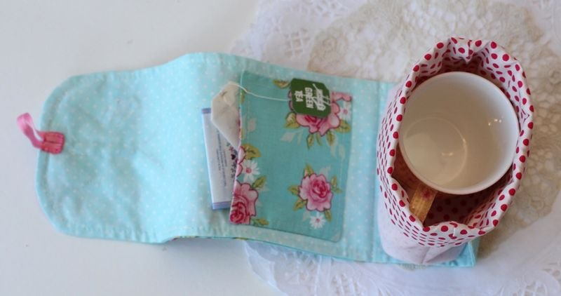 Free Pattern Sew Chic Butterfly Mug Bag