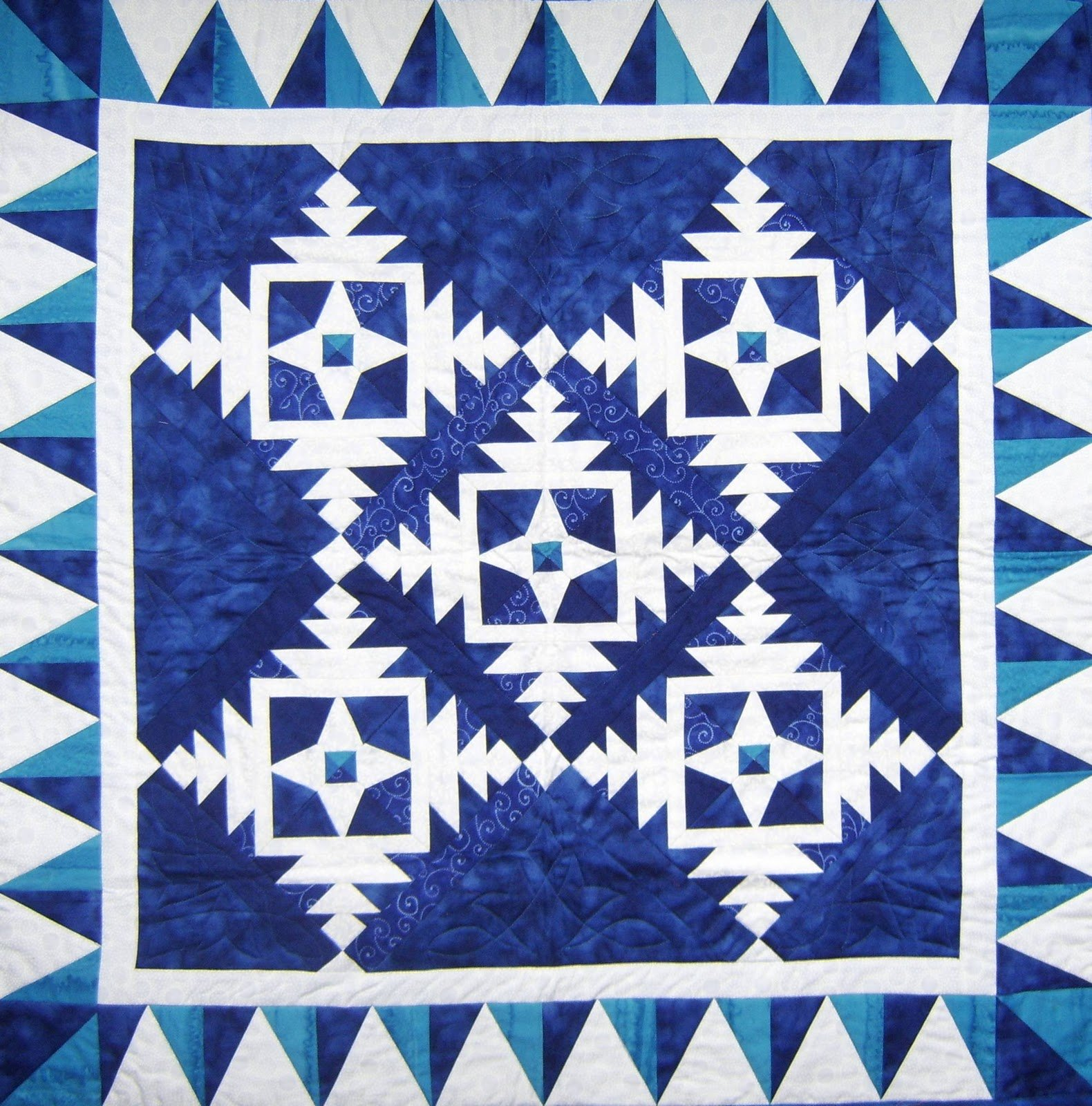 Quilting Designs On Paper : Free Tutorial - Paper Snowflake Block by Sue