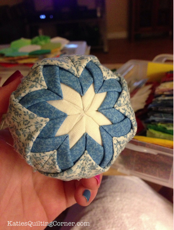 Free Tutorial - Quilted Christmas Ornaments by Katie Ringo
