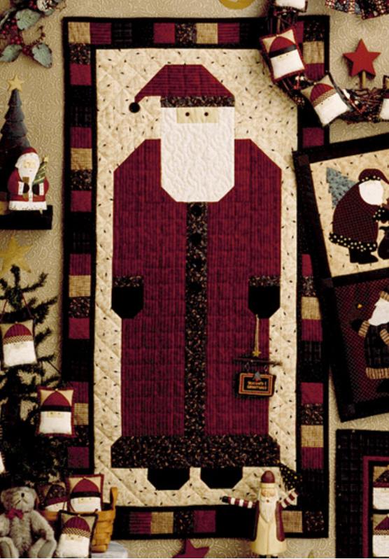 Free Tutorial - Santa Door Banner by Debbie Mumm : debbie mumm quilt books - Adamdwight.com