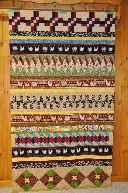 Free Tutorial Seminole Piecing By Karen Pior