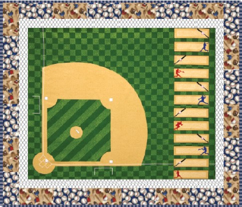 Free Pattern Home Run Quilt By Ramona Rose For Robert