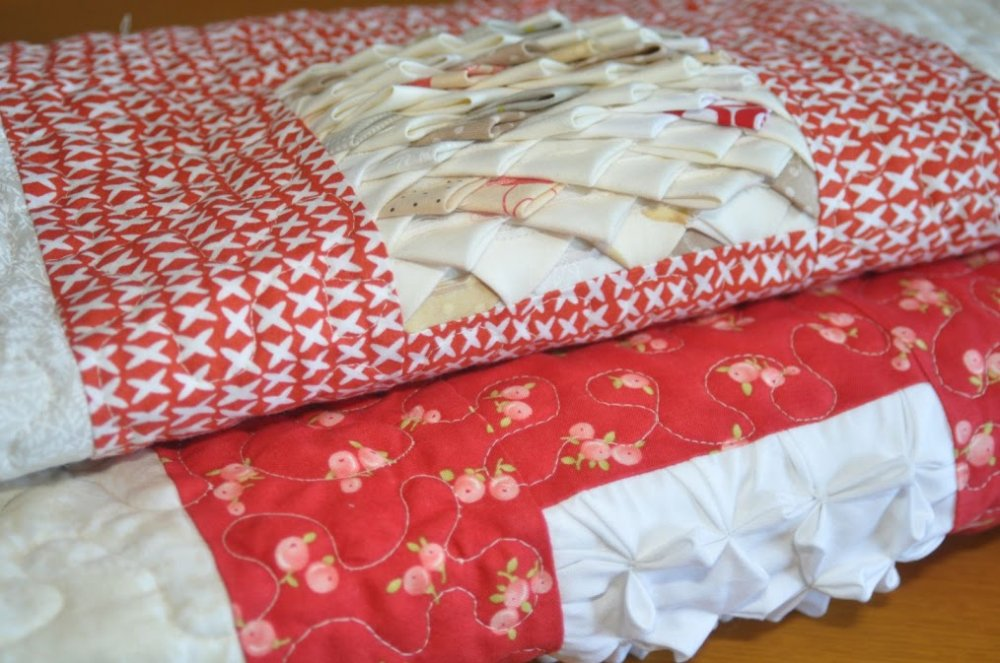 Free Tutorial Textured Four Patch Quilt By Teresa