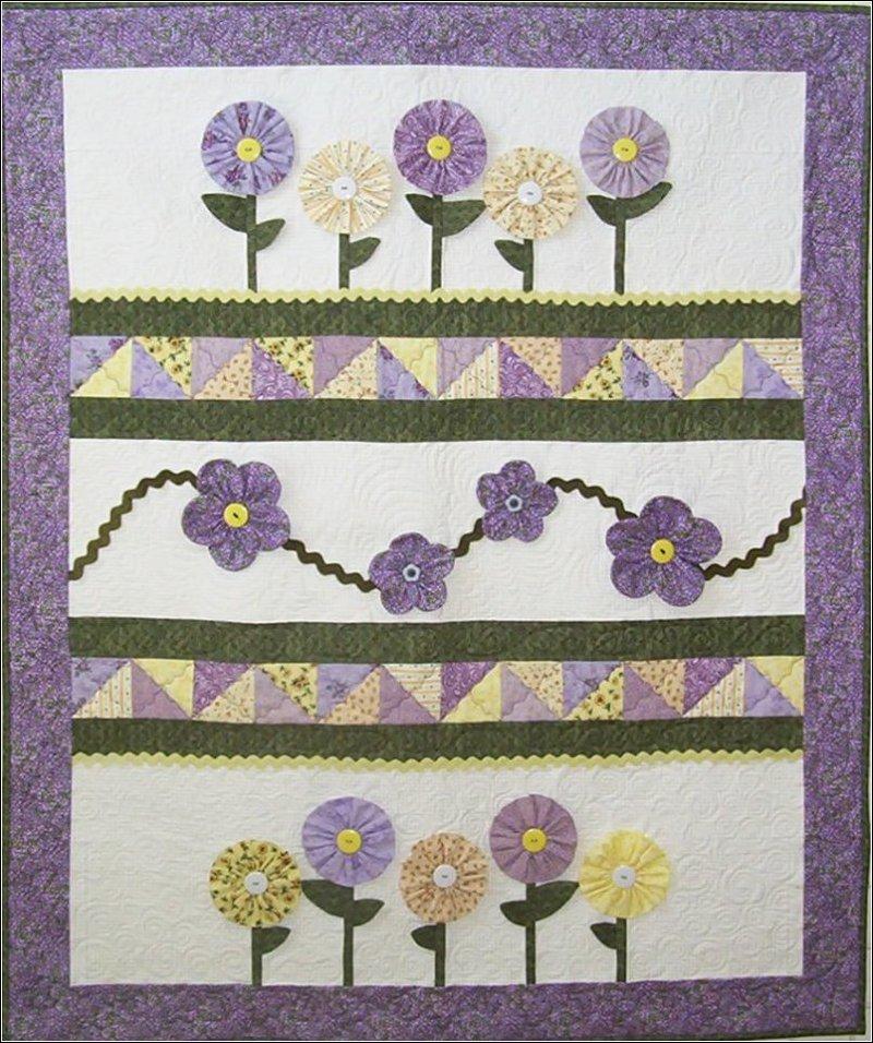 Daisy Daze Baby Quilt Pattern