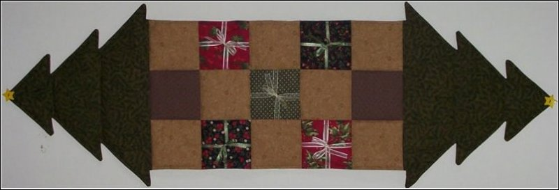 Oh, Christmas Tree Table Runner Pattern