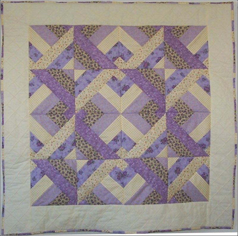 Precious Patches Girl Baby Quilt Pattern
