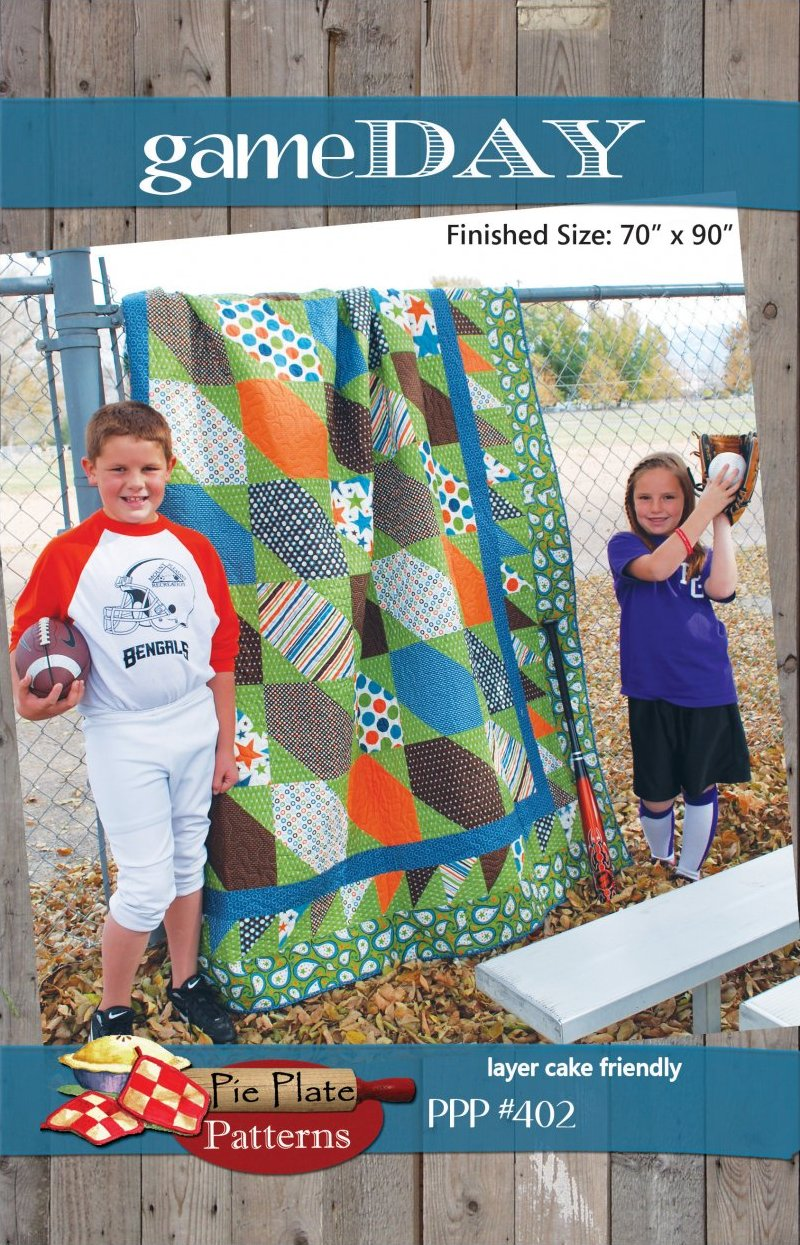 Game Day Quilt Pattern