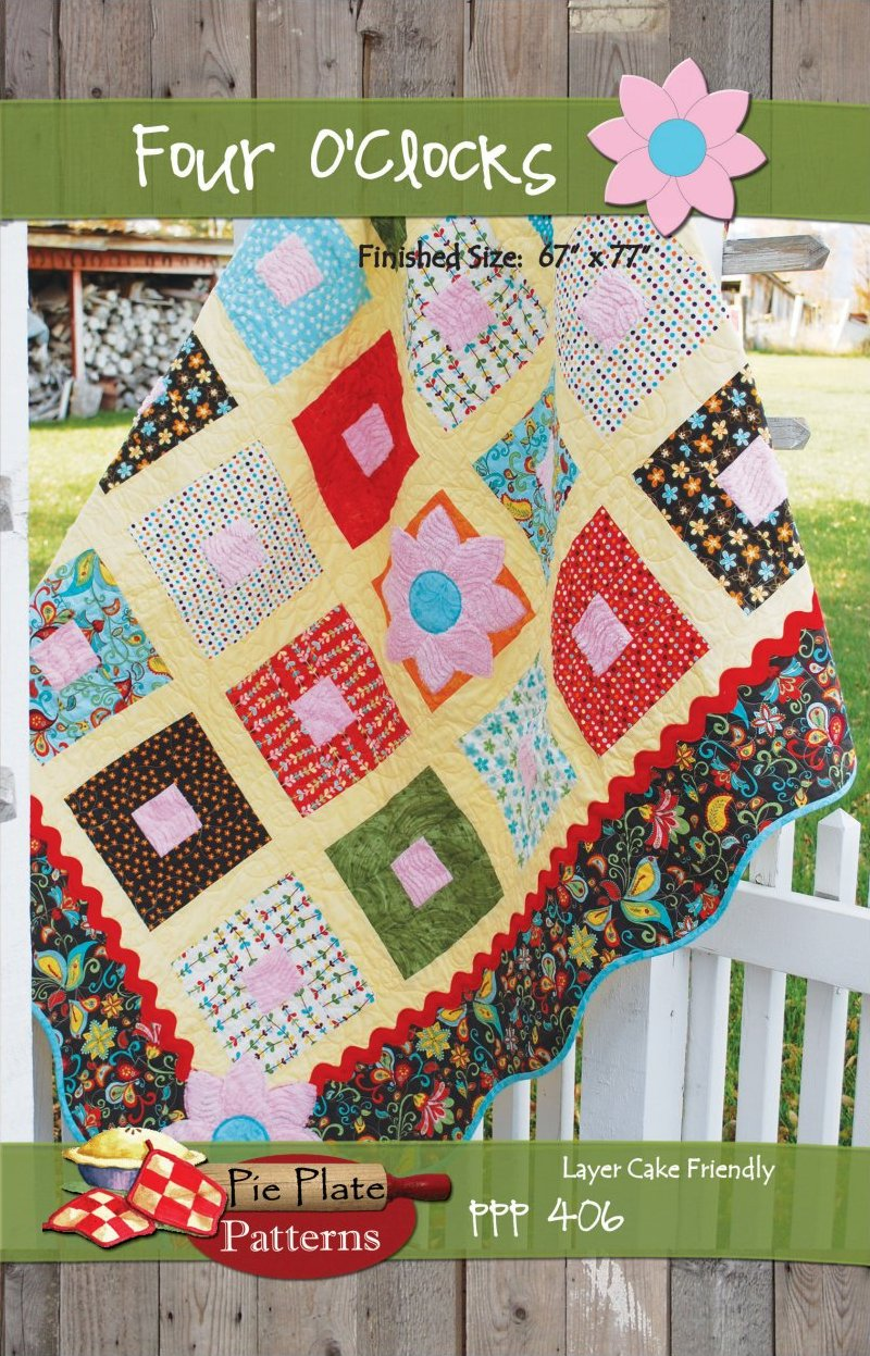 Four O'Clocks Quilt Pattern