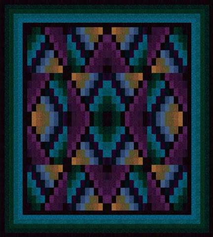Free Pattern Navajo Sunrise By Jinny Beyer Fascinating Native American Quilt Patterns