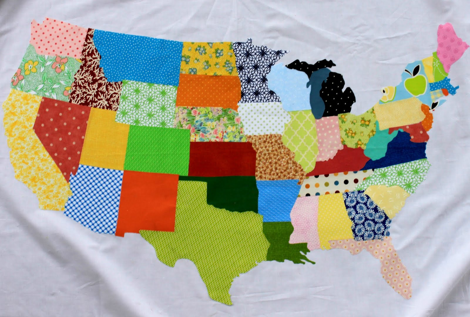 Free Tutorial - The United Scraps of America by Amy