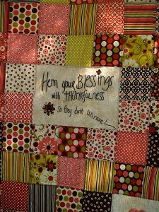 Free Tutorial Blessings Patchwork Quilt By Sally For