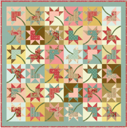 Maple Star Quilt Pattern