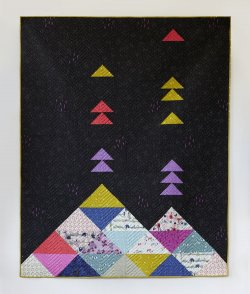 Volcano Quilt by Sarah Watt Cotton and Steele
