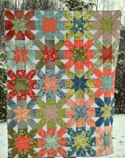 Starburst Cross Quilt
