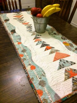 Indelible Table Runner