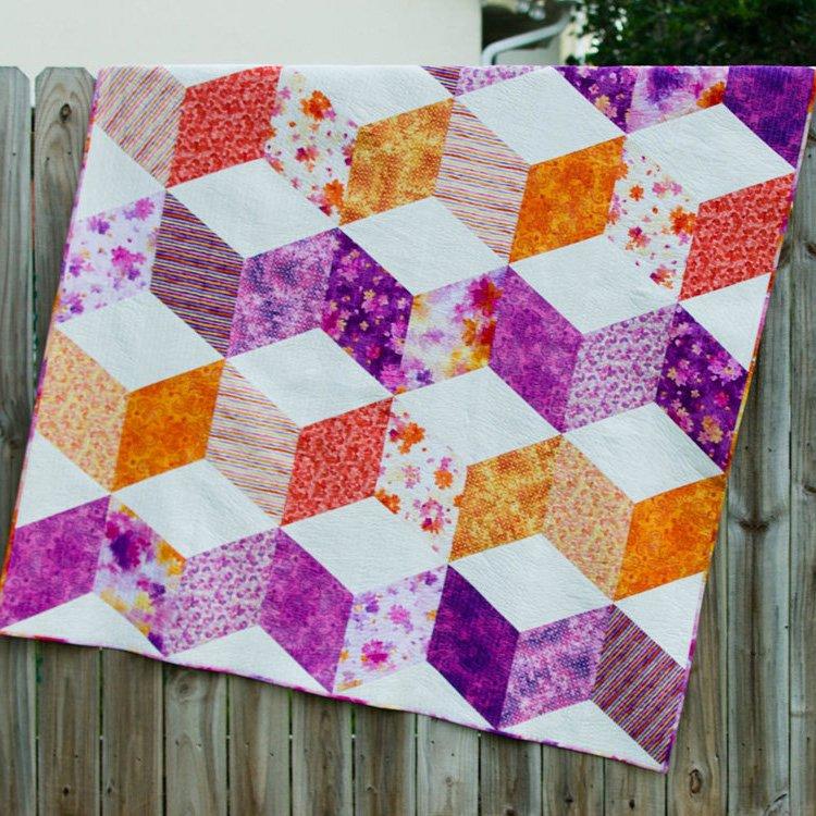 Free Pattern Sparkle Quilt By Caroline Fairbanks Critchfield