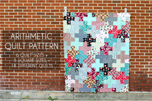 Free Tutorial Modern Plus Quilt By Jeni Baker