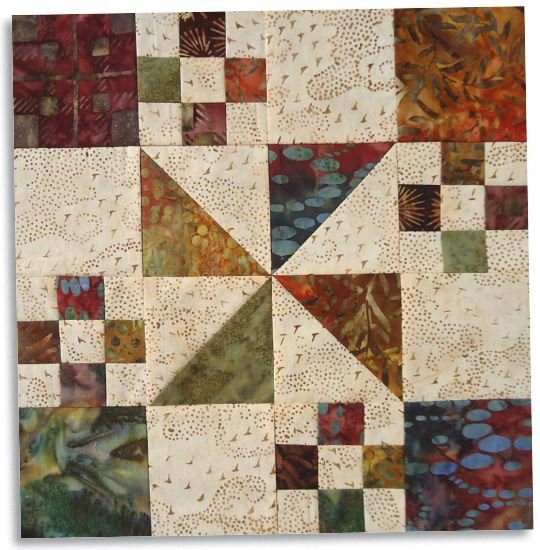 Free Pattern Autumn At The White House Block From