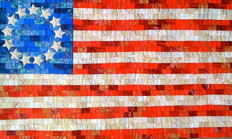 Free Pattern Betsy Ross Flag Quilt By Stephanie
