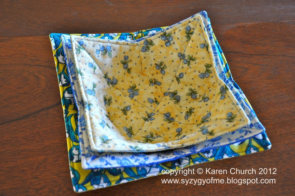 Free Tutorial Bowl Potholders By Karen