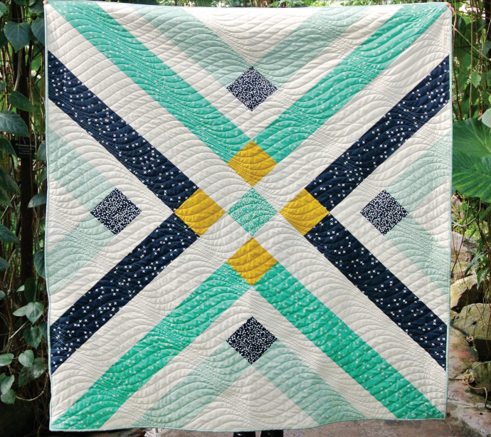 Plaid Baby Quilt: Retro Plaid Quilt By Suzy Quilts With Birch