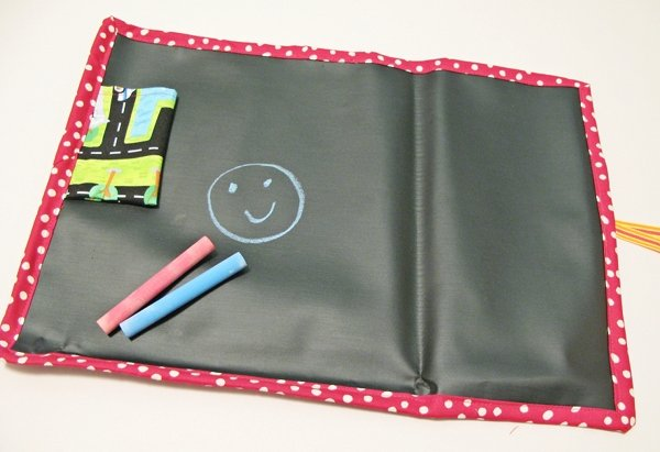 Free Tutorial Travel Roll Up Chalk Mat By Laurel