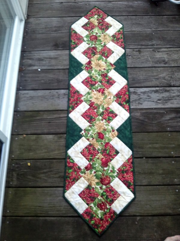 Christmas Table Runner Patterns Free.Free Tutorial Christmas Runner Tutorial By Karen Paschke