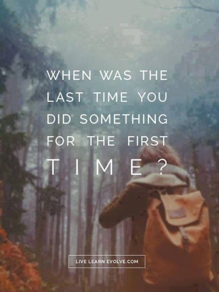 Do 'First Time' Things