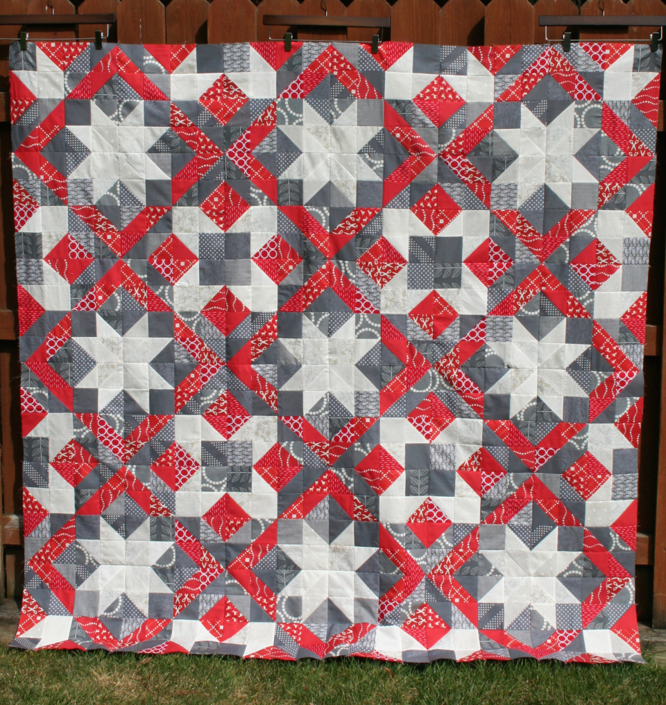 Free Tutorial Christmas Quilt Top And Block By Melanie