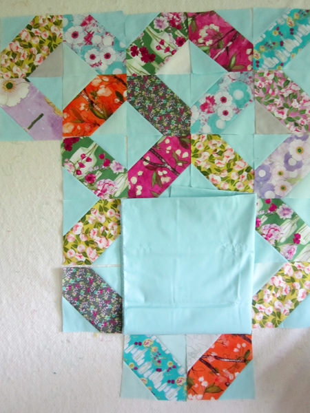 Free Tutorial Lattice Quilt Blocks By Rachel