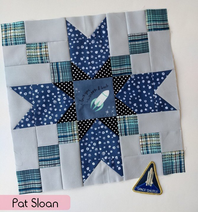 space shuttle quilt pattern - photo #21