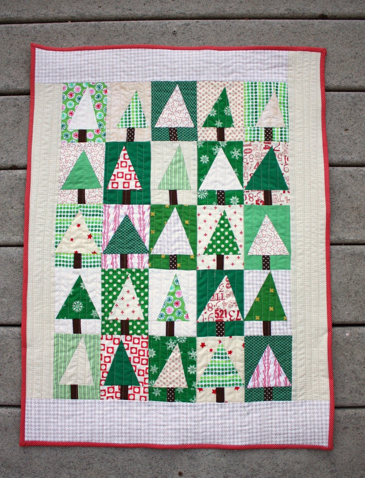 Free Tutorial Patchwork Tree Quilt Block By Amy Smart
