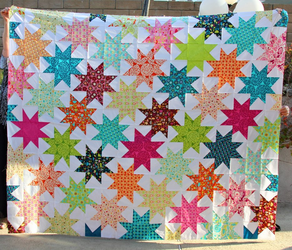 Free Tutorial Penelopes Star Quilt By Darci
