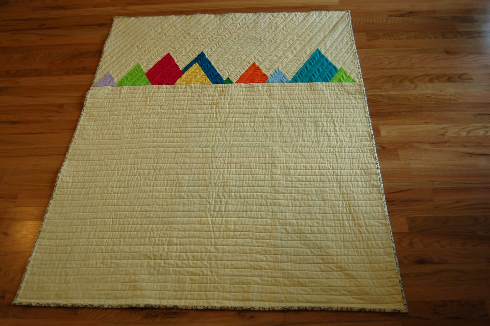 free tutorial rocky mountain range quilt by anne