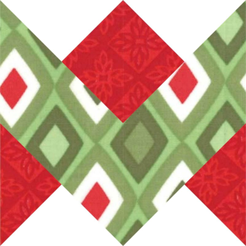 Free Tutorial Holiday Ribbon Block By Ryan Walsh Magnificent Free Christmas Quilt Patterns