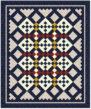 Saratoga Quilt Pattern