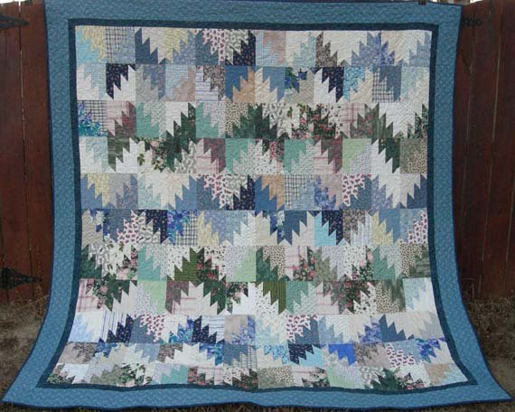 Free Tutorial Scrappy Mountain Majesties Quilt By Bonnie K Hunter